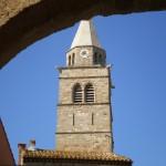 Church at Gabian near Pezenas, The Village House rental accommodation